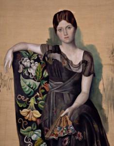 Olga, die Schöne, war Picassos erste Gattin.