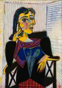 Dora Maar, in einer von Picassos Ansichten