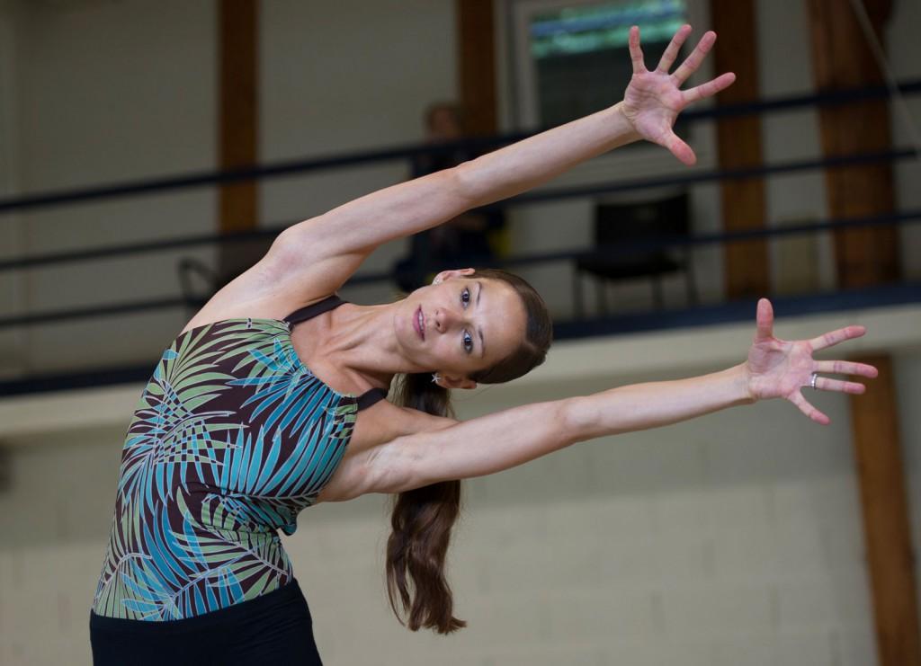 Polina Semionova steht im Zentrum der Aufführung mit dem Béjart Ballet Lausanne am Sonntag in Berlin. Foto: LaureN Pasche