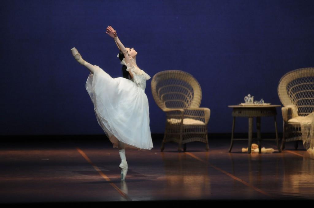 Marguerite (Lucia Lacarra) hat sich entschieden: für und gegen die Liebe zugleich. Foto: Charles Tandy