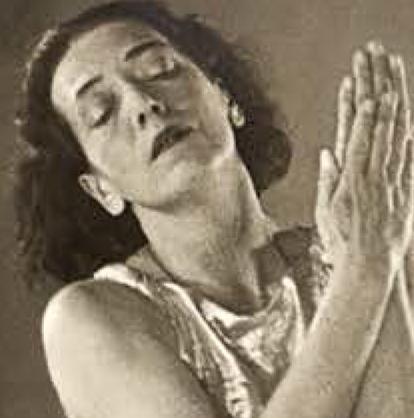 Mary Wigman: Tanz war ihre Religion – sie selbst die Begründerin einer ganz neuen Form von tänzerischer Bewegung. Foto: Cover-Ausschnitt der DVD