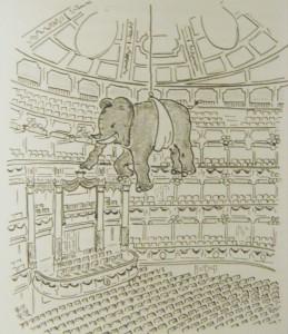 Elefanten sind selten in der Oper