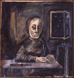 Penck und eine alte Frau - vermutlich ein Thema für Analytiker