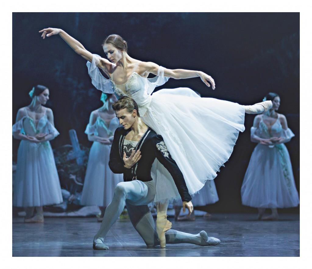Giselle im zweiten Akt