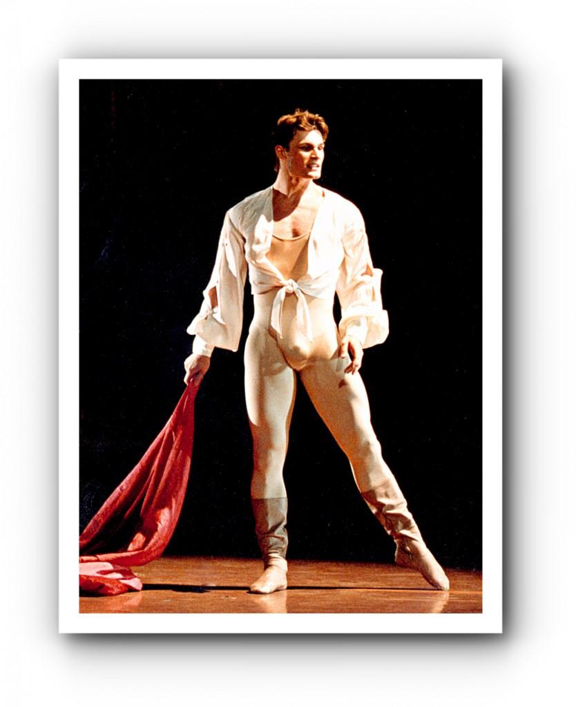 Gregor Hatala als Romeo