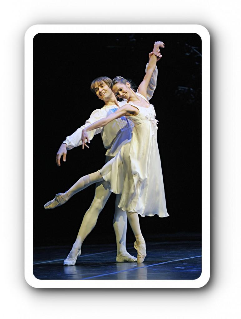 Julia mit ihrem Romeo