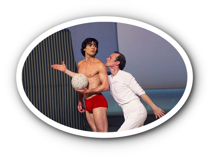 """Death in Venice"" is a great piece about men's love by John Neumeier."