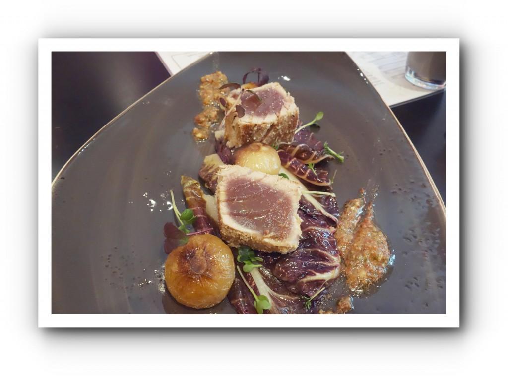 Tunfisch gegrillt