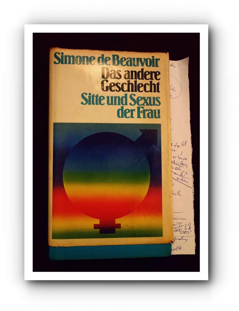 Buch von vorn