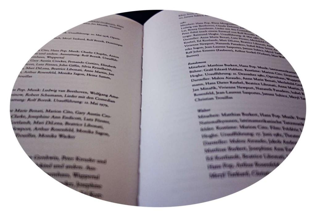 Bausch-Linsel-Buch