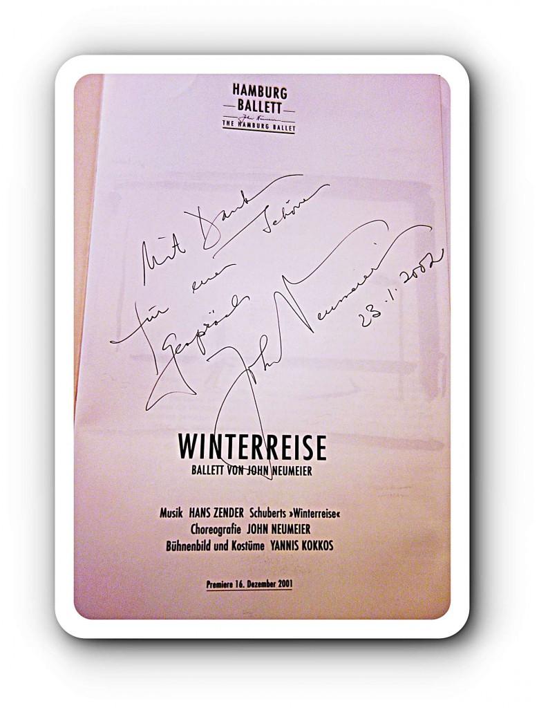 """Die """"Winterreise"""" von John Neumeier thematisiert die Einsamkeit."""