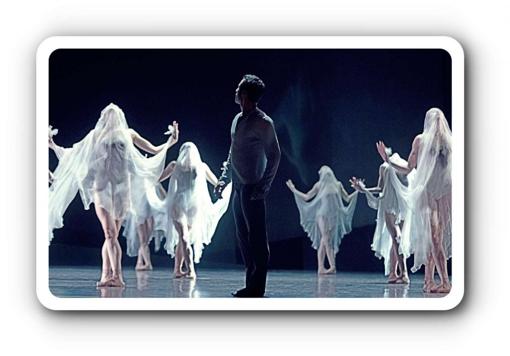 """Giselle"" in der Semperoper in Dresden."
