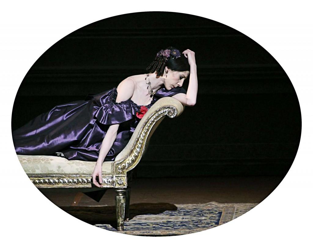 Ballett ist auch ein Nehmen und ein Geben.
