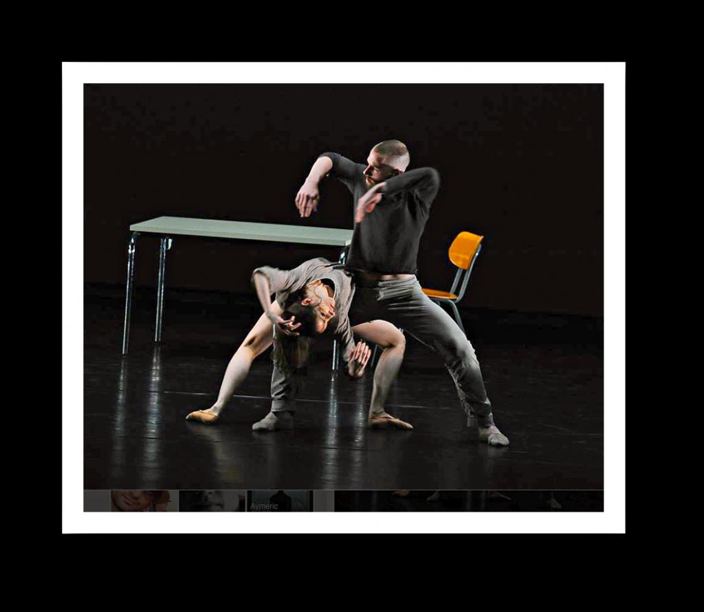 Arshak Ghalumyan tanzt und choreografiert mit persönlicher Note.