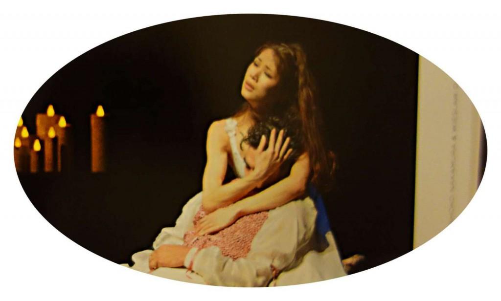 Shoko Nakamura tanzt auch in ihrem Buch.