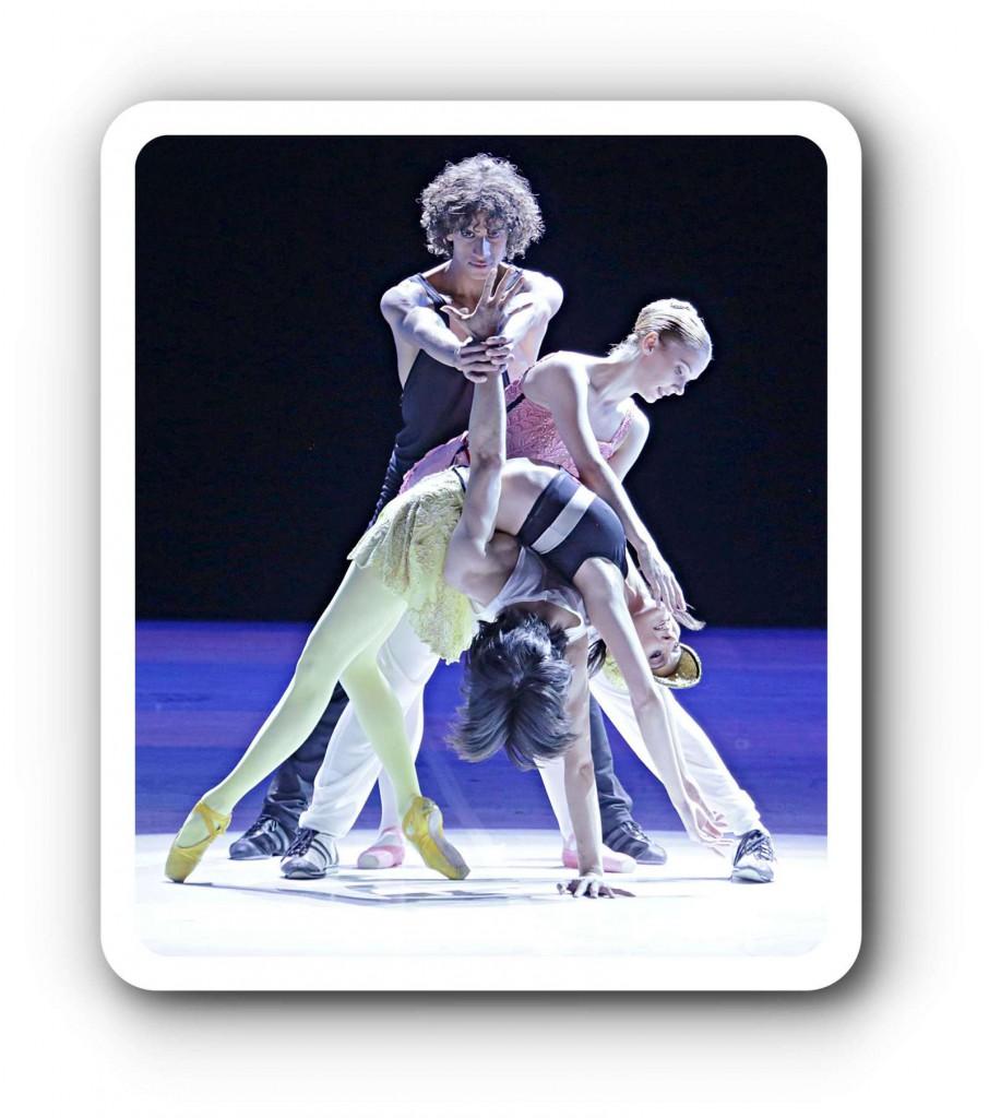 Ballet for Life ist ein Ballett für die Zuunft, sagte Béjart.