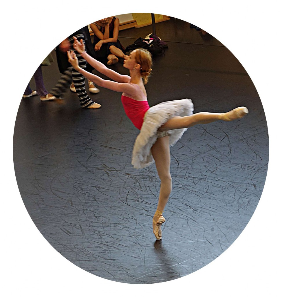 Ballettproben liegen im Trend.