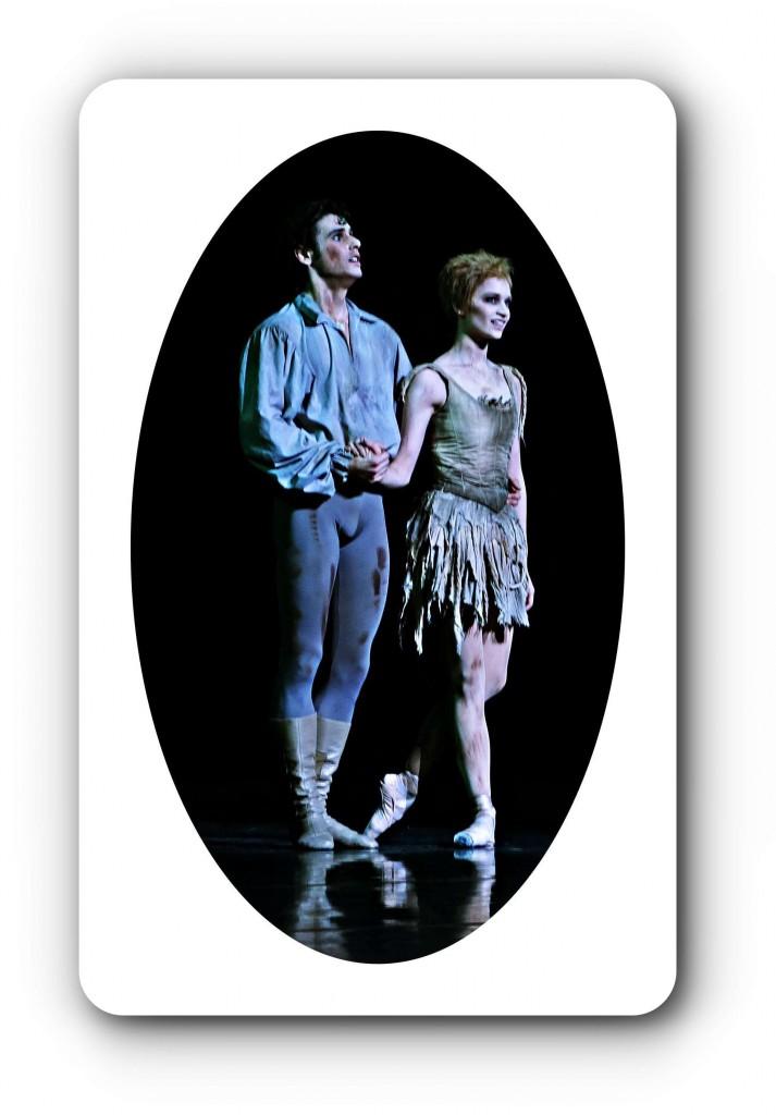 """EIn junges frisches Paar tanzt """"Manon"""" in der Semmperoper in Dresden."""