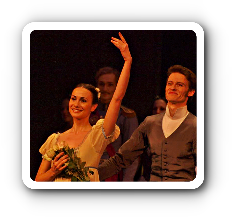 "Jason Reilly und Polina Semionova tanzen ""Onegin"" in Berlin."