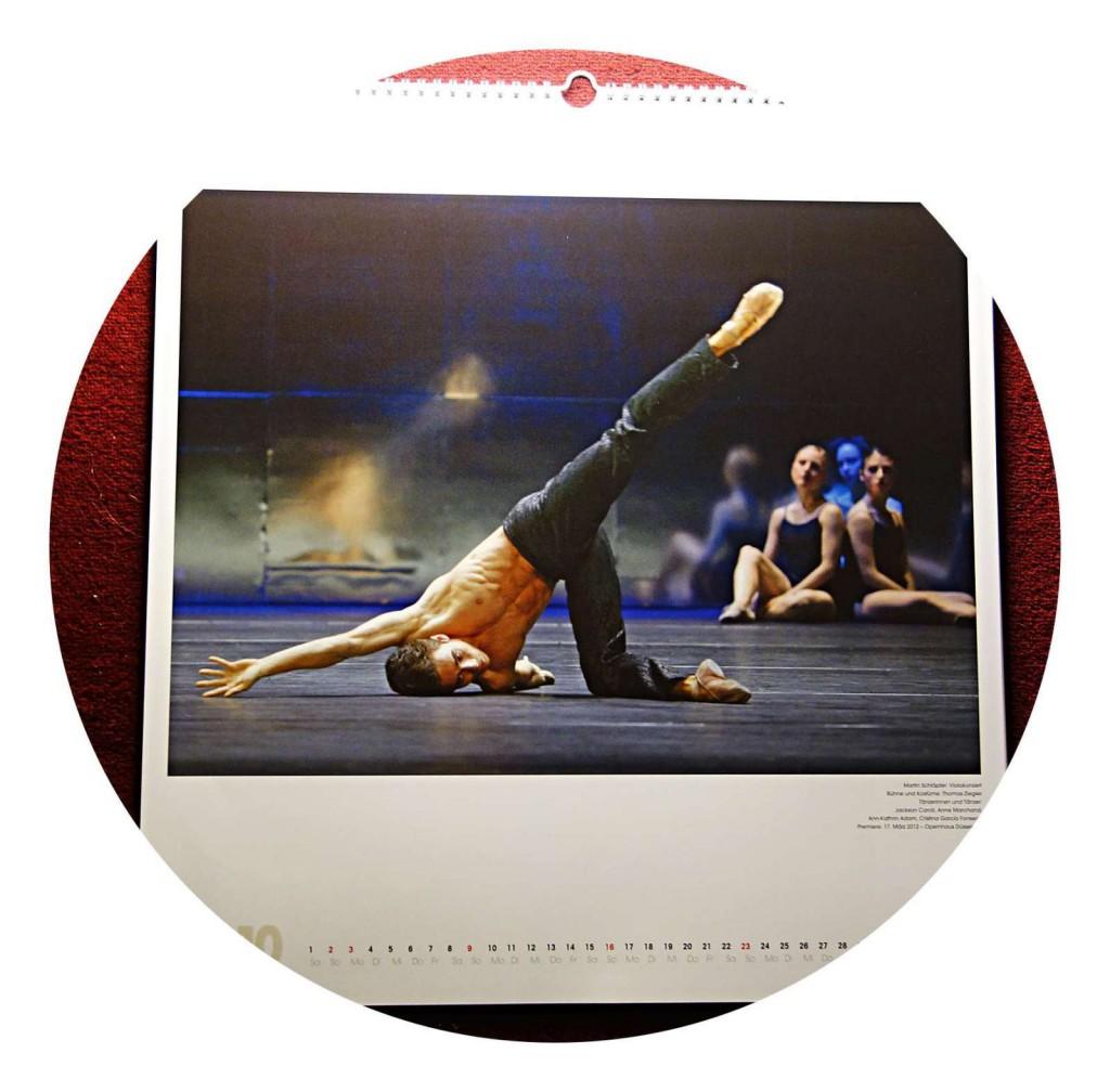 Gert Weigelt hat für 2016 gleich zwei Ballett-Kalender rausgebracht.