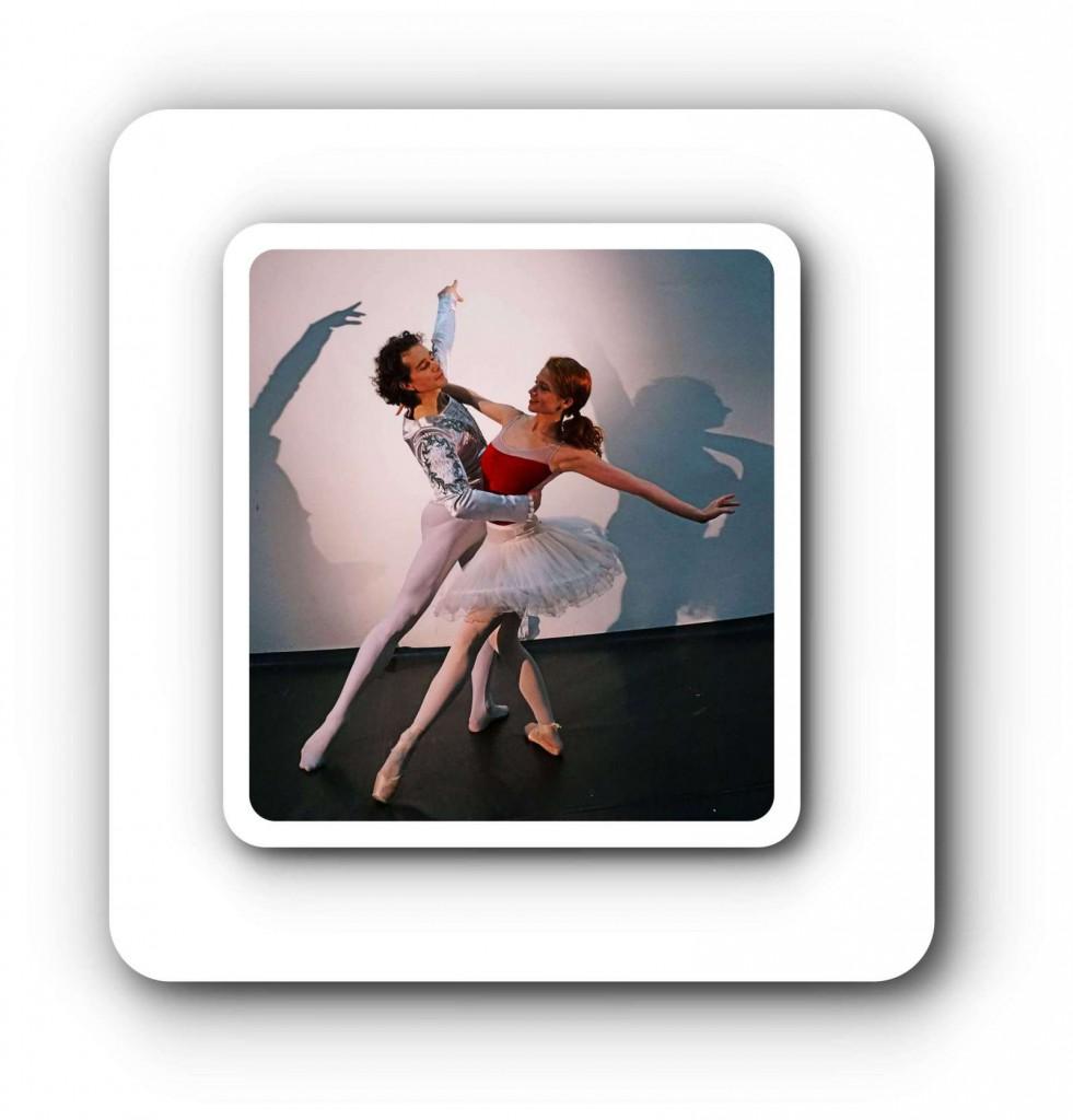 Ein fotografischer Wintertraum beim Semperoper Ballett.