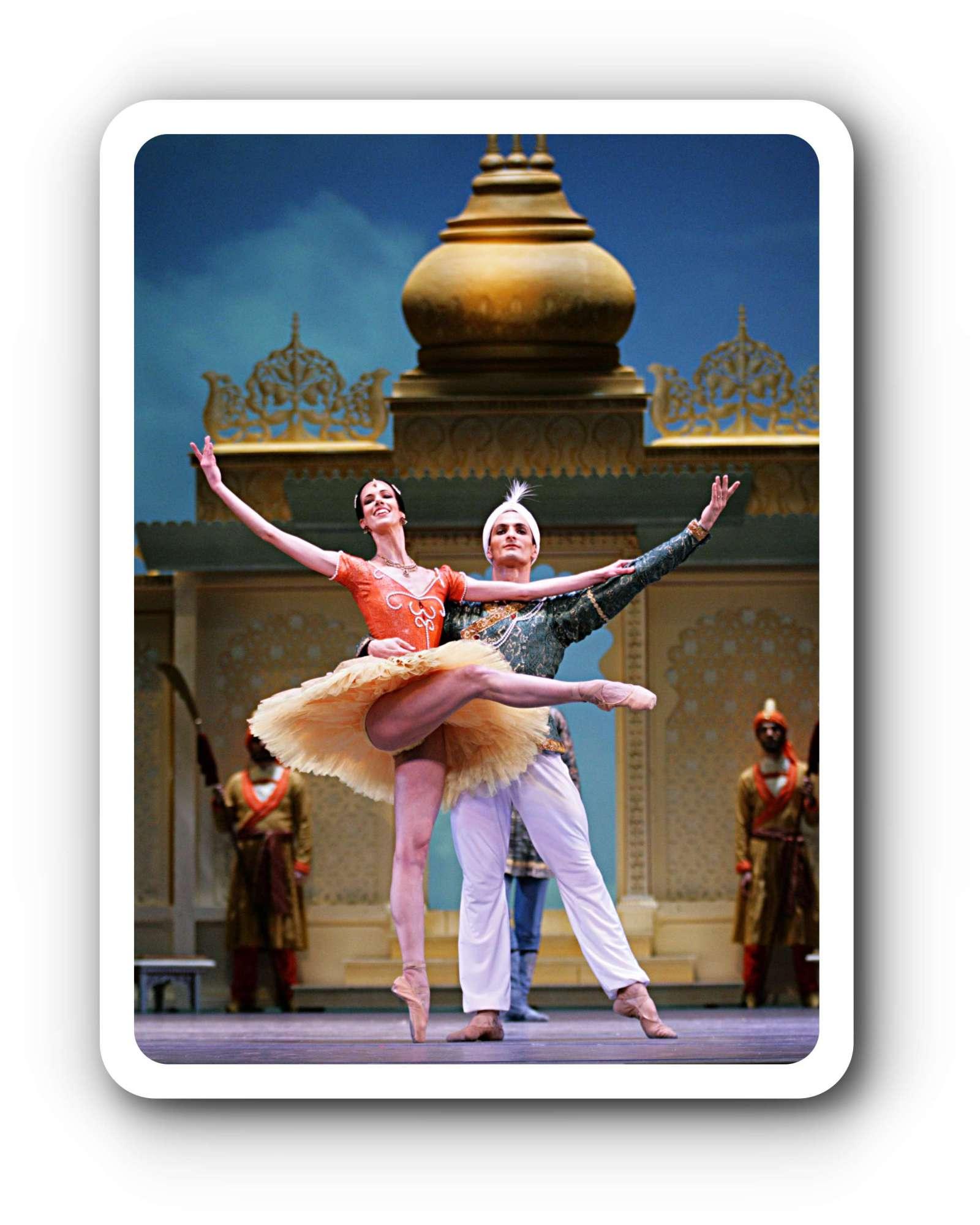 Semperoper Ballett La Bayad¨re Aaron S Watkin