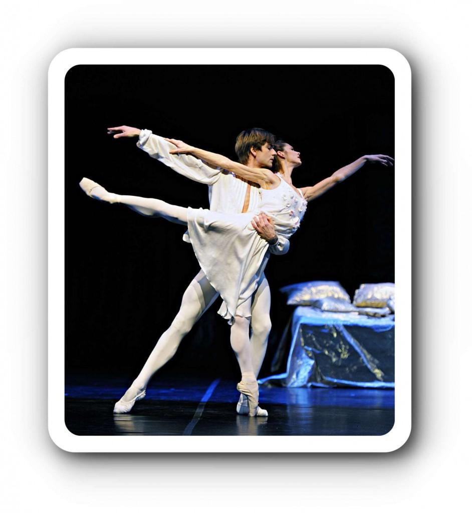 Romeo und Julia tanzen überall.