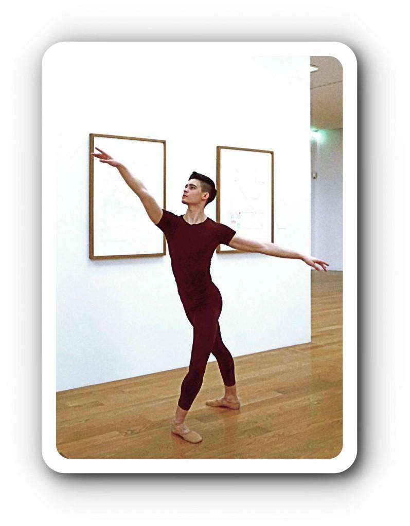 Tanz und Kunst in Dresden.