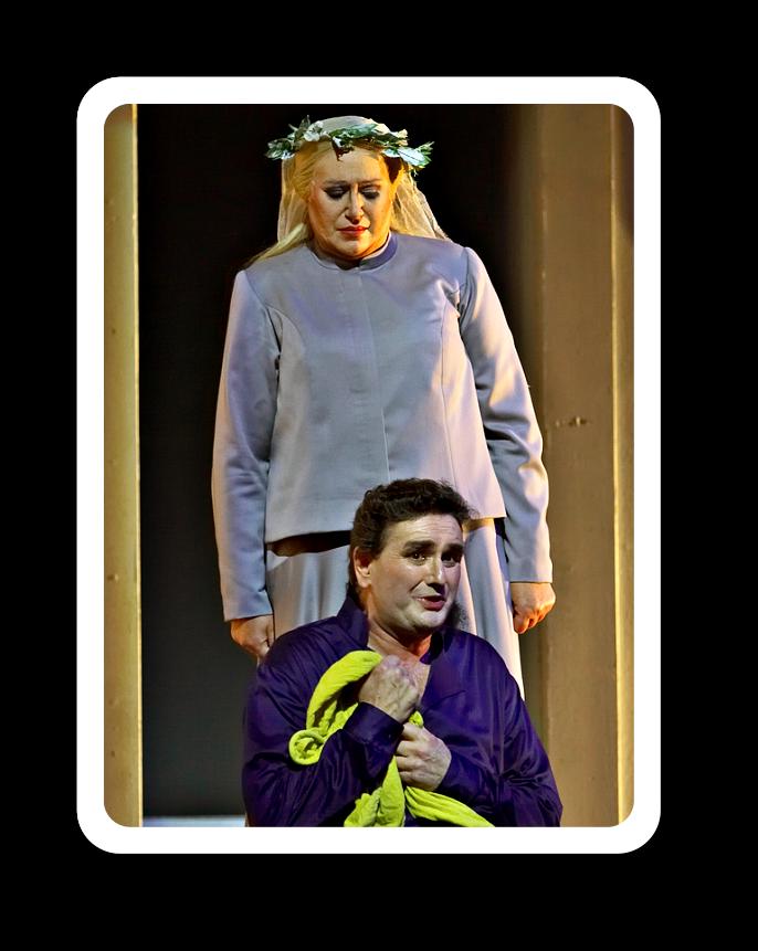 """""""Tristan und Isolde"""" in der Inszenierung von Ruth Berghaus - toll."""