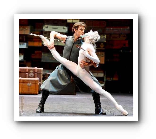 Salome ist auf den Hund gekommen - beim Stuttgarter Ballett.