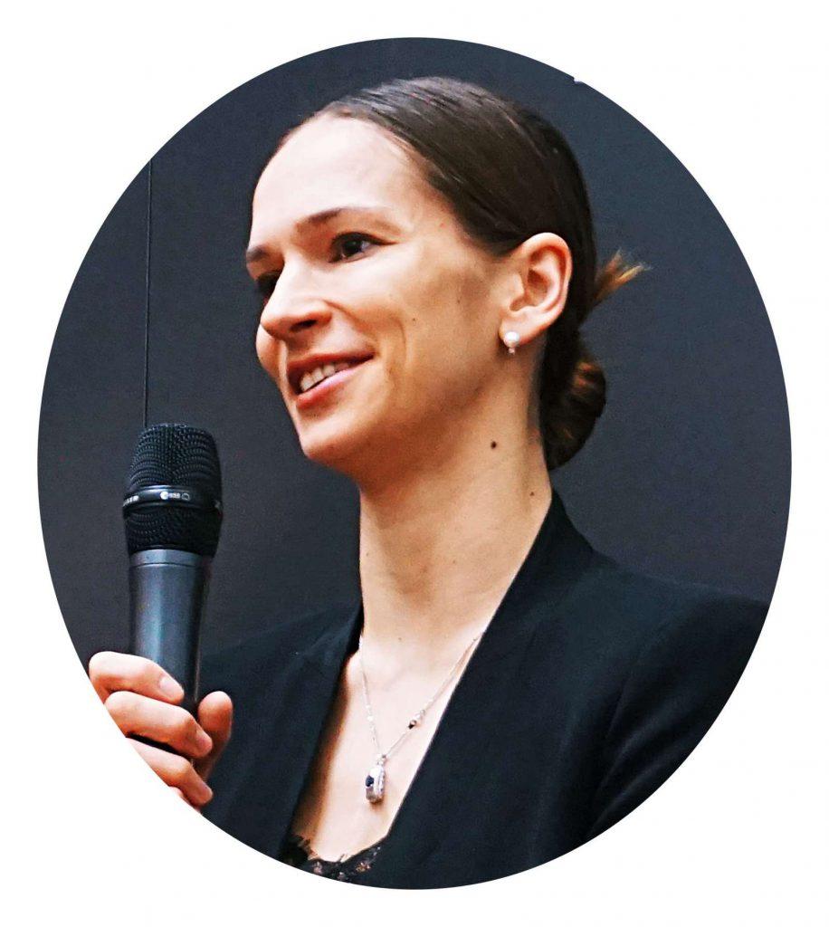 Polina Semionova auf der Pressekonferenz am 24.April 2017