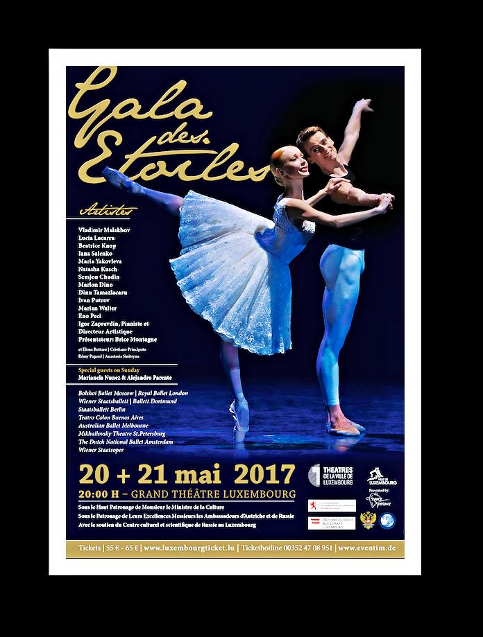Die Gala des Étoiles 2017 lockt nach Luxemburg