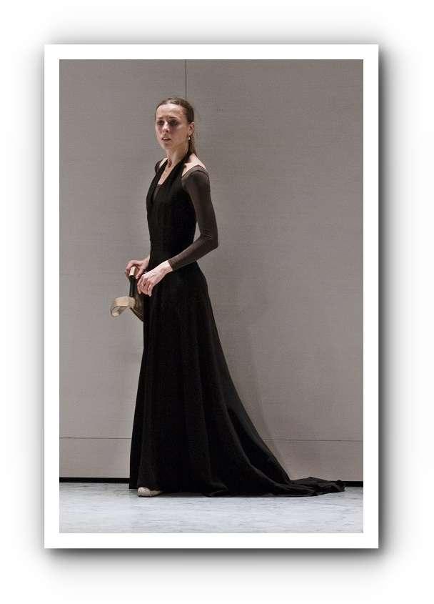 Anna Karenina Laudere und Edvin Revazov vom Hamburg Ballett auf der Probe