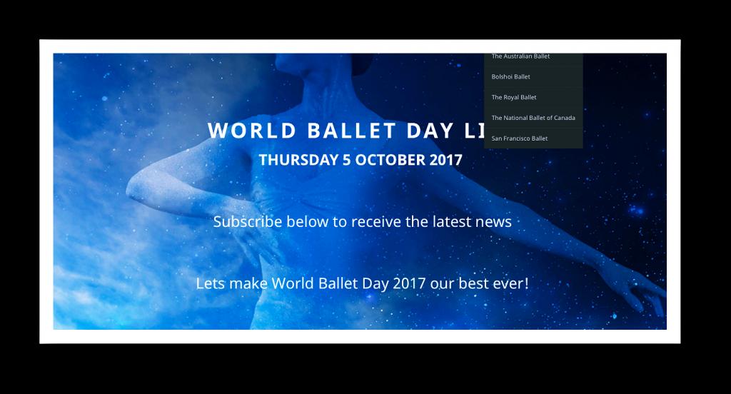 Der World Ballet Day lockt vor den Monitor