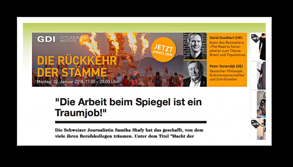 """ohn Neumeier ist Thema im jüngsten """"Spiegel"""""""