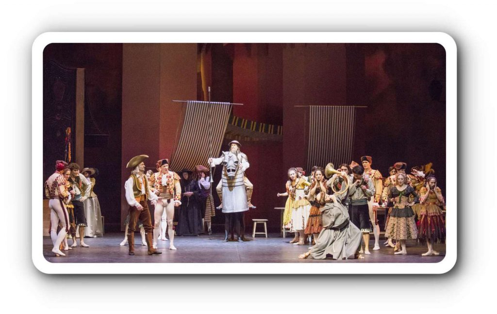 Don Quixote ist gut für alle - beim Hamburg Ballett