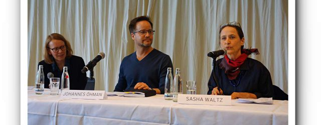 Sasha Waltz braucht einen Anwalt