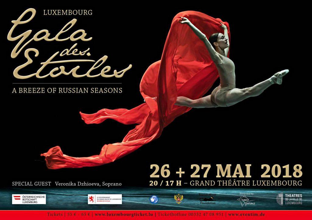 Die Gala des Étoiles in Luxemburg ist jedes Jahr ein Knüller