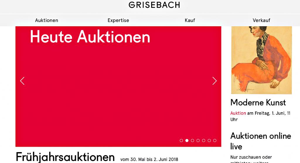 Grisebach hat Beckmann verkauft