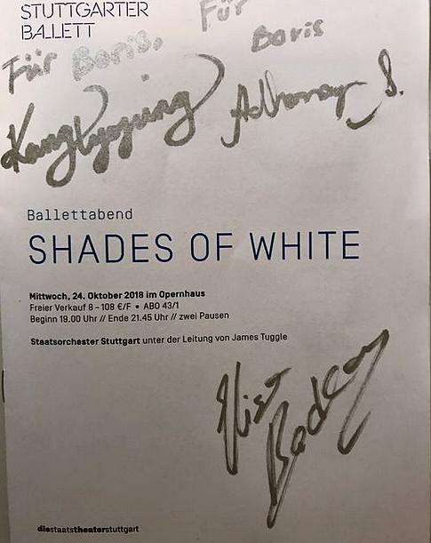 """Tolle zweite Besetzungen in """"Shades of White"""""""