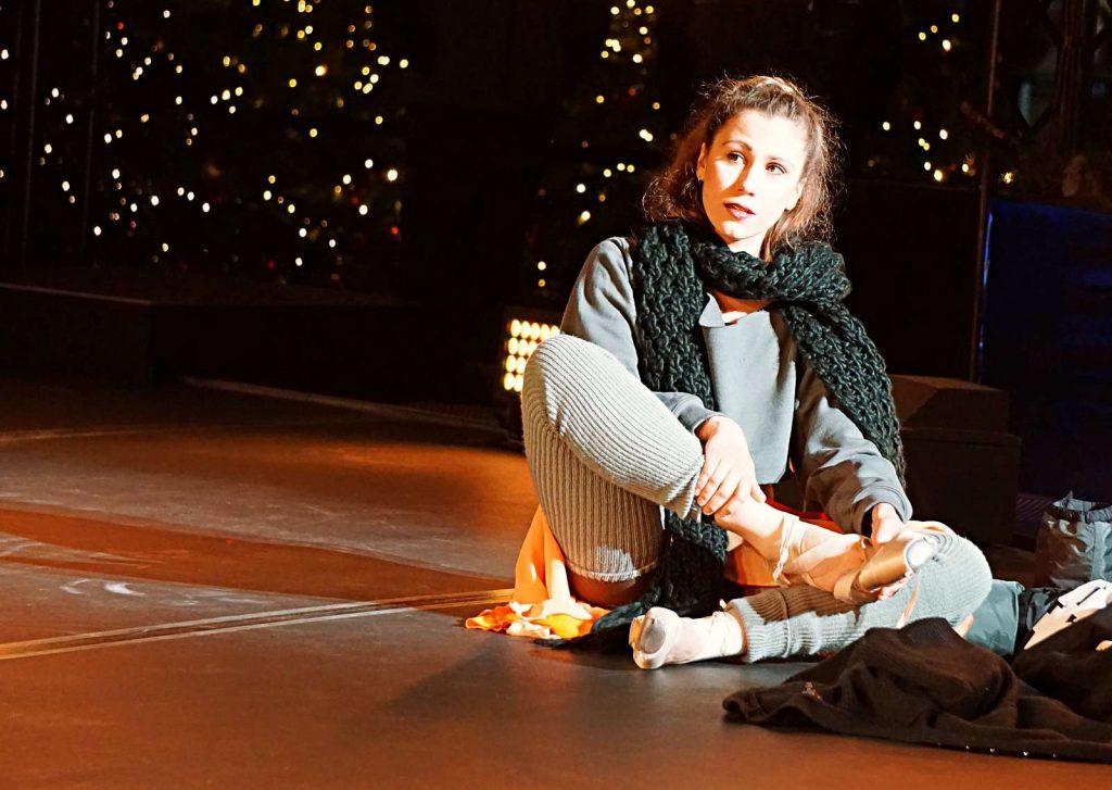 Bianka Fucsko tanzt