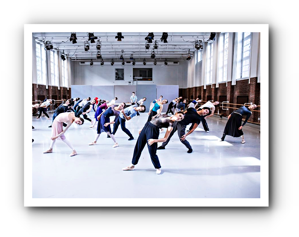 die 228. Ballett-Werkstatt beim Hamburg Ballett