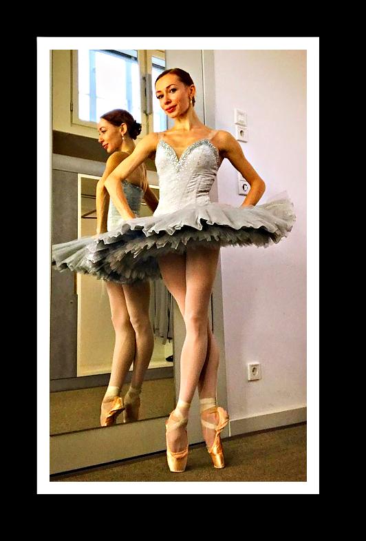 Iana Salenko und Marian Walter in der Staatlichen Ballettschule Berlin