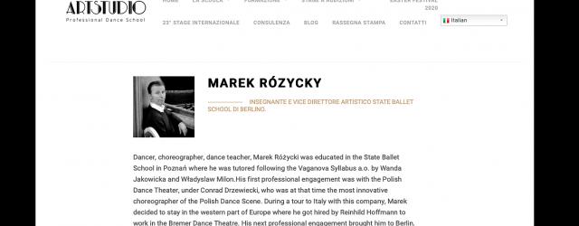 Marek Rozycki in der Kritik