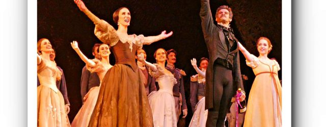 """Onegin"" with Thiago Soares and Royal Ballet"