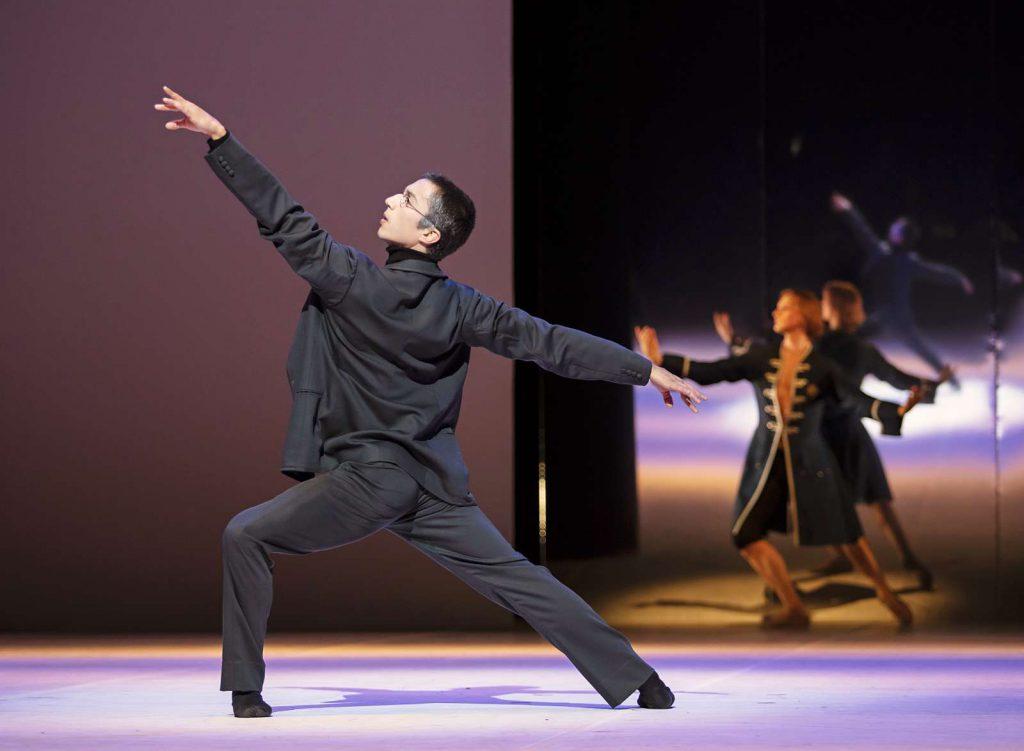 """""""Tod in Venedig"""" von John Neumeier mit Atti Kilpinen und Christopher Evans beim Hamburg Ballett"""