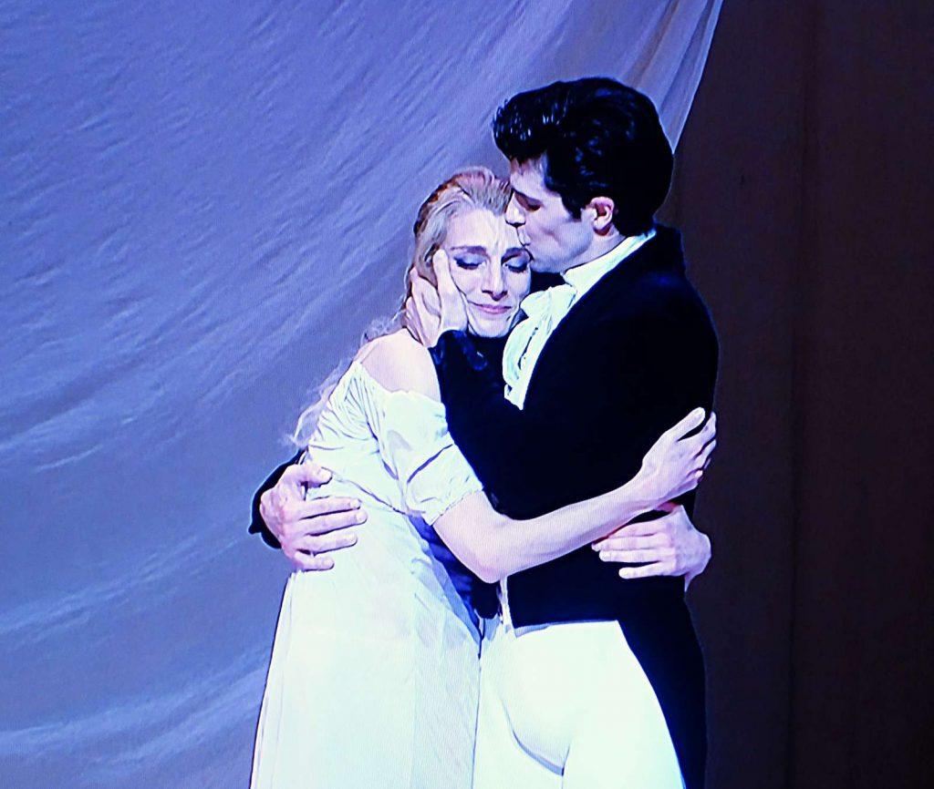 Zenaida Yanowsky mit Roberto Bolle