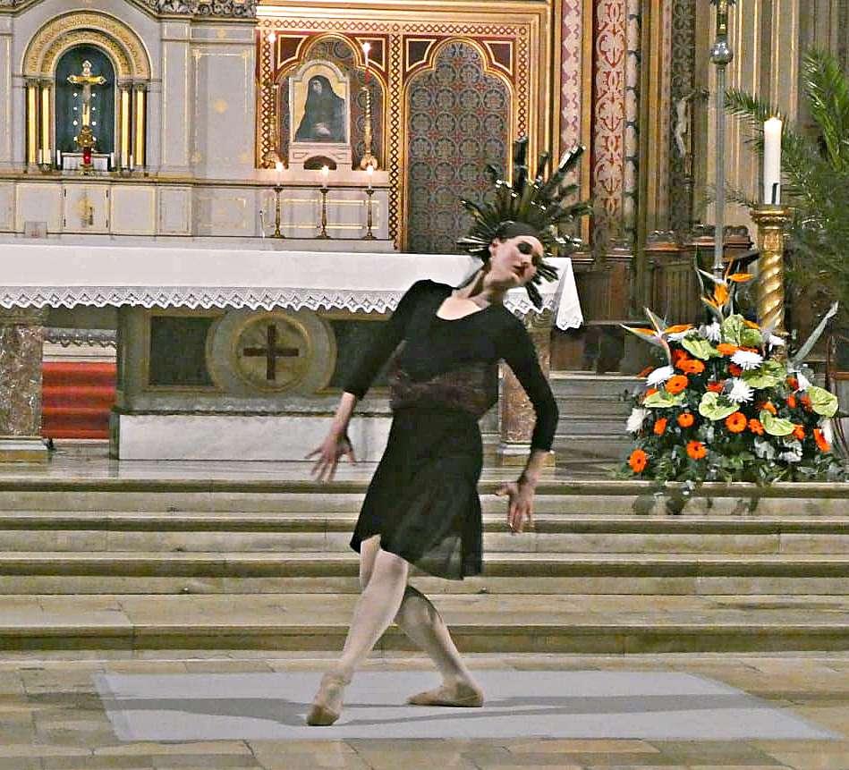 Vier Uraufführungen in zwei Kirchen mit Laura Tiffany Schmid und Gisela Sonnenburg
