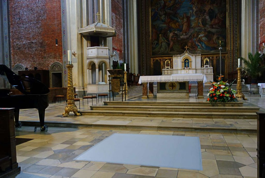 Kirchen und Kulturtempel offen halten