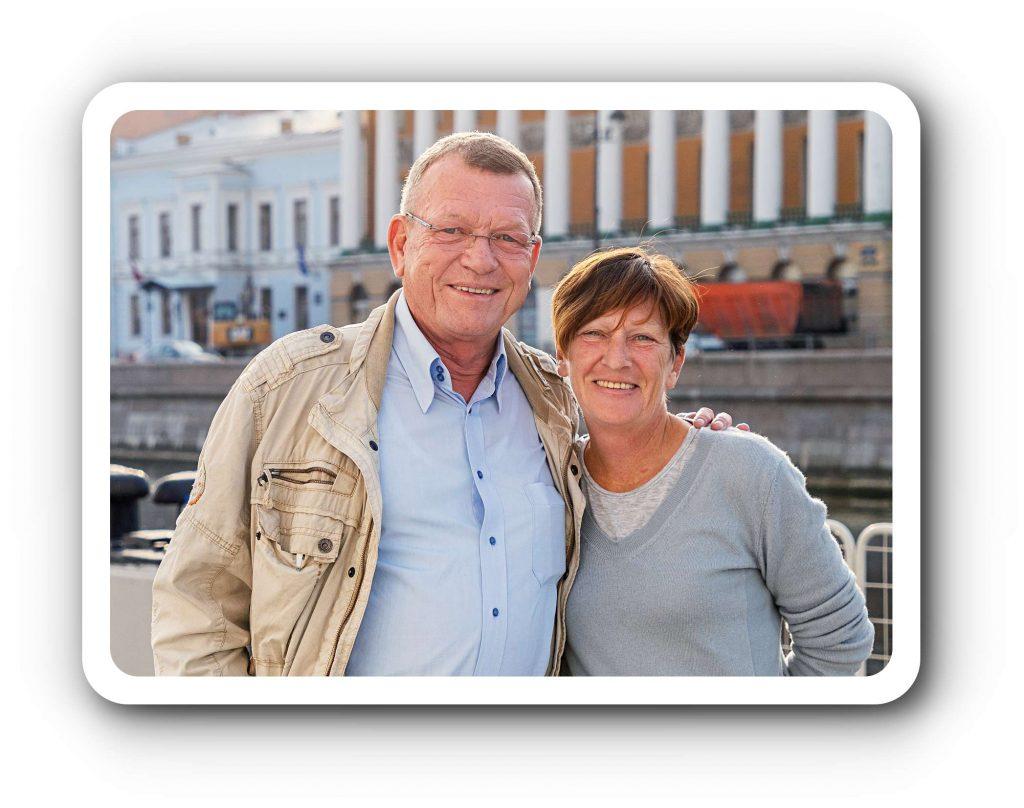 Die Eheleute Sunhild und Christian Sutter sind private Ballett-Mäzene